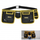 EXPLOIT Multi-Function Electrical Repairing Tool Storage Waist Bag - Black + Yellow