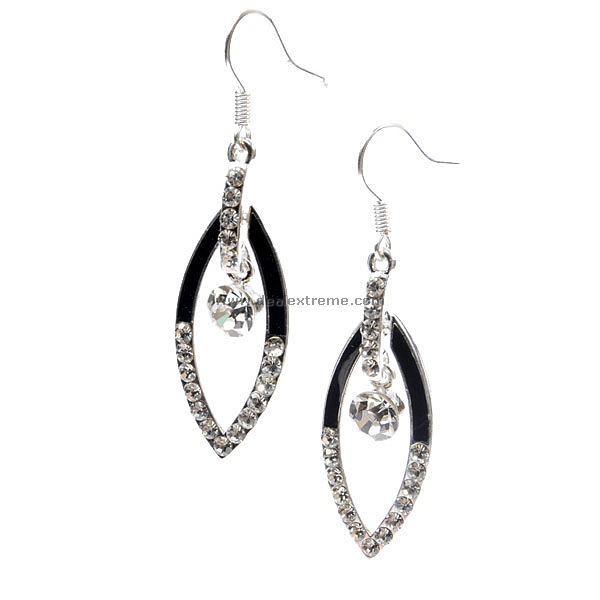 Beautiful 925 Silver Crystal Earring in Gift Box