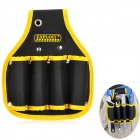 EXPLOIT Portable Electrical Repairing Tool Storage Waist Bag - Black + Yellow