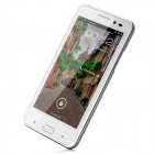 "B93M Android 4.0 WCDMA Bar Phone w/ 4.5"" Capacitive Screen, Wi-Fi, GPS and Dual-SIM - White"