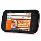 "S720C Android 2.3 GSM Bar Phone w/ 3.5"" Capacitive Screen, Quad-Band, Wi-Fi and Dual-SIM - Red"