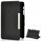 Protective PU Leather Case Stand for Google Nexus 7 - Black