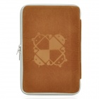 "Protective Sponge + Cloth Soft Sleeve Bag Pouch Case for 7"" Tablet Notebook - Brown"