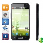 "E120L Android 4.0 WCDMA Smartphone w/ 4.7"" Capacitive Screen, Wi-Fi, GPS and Dual-SIM - Black"