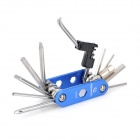 Roswheel Carbon Steel Multifunction Folding Tool - Blue