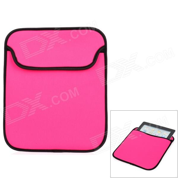 "Funda protectora suave bolsa Sleeve Funda para Tablet Notebook 9.7 ""- color rosa oscuro"