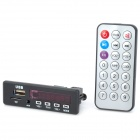 CT08 Low Noise MP3 Player Module w/ USB / TF / 3.5mm AUX - Black (DC 8~18V)