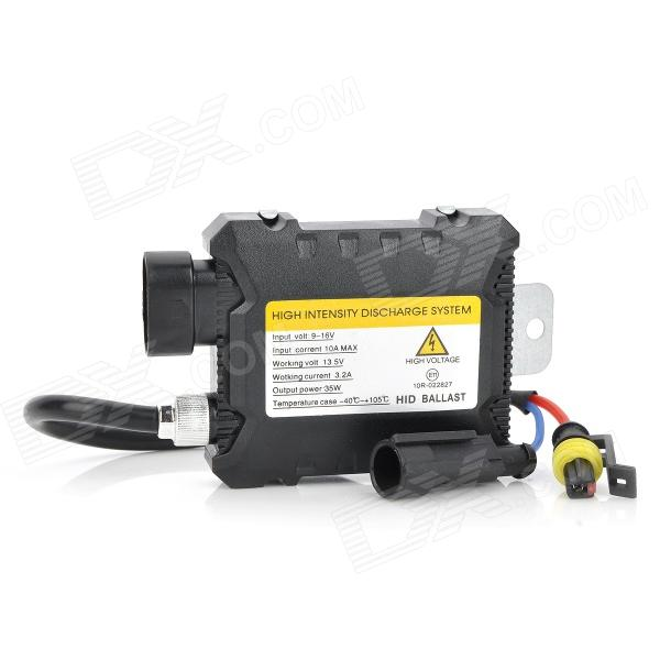 35W HID Headlamp Ballast - Black (DC 9~16V)