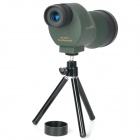 Portable 20 x 50 Spotting Scope Monocular Telescope - Deep Green + Black