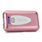 S-MP1 8400mAh Portable Power w/ Flashlight / Adapters - Pink