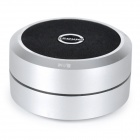 XSOUND X3 Bluetooth v2.1 + EDR Speaker w/ Strap for iPhone / iPad - Silver + Black