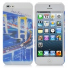 San Francisco City Pattern Protective ABS Case with Screen Protector for iPhone 5
