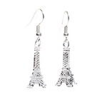 Beautiful 925 Silver Eiffel Tower Earring in Gift Box