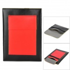 "Stilvolle Protective PU Leder + Velvet Tasche für 7 ""Tablet PC - Black + Red"
