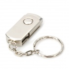 Rotational Aluminum USB 2.0 Flash Drive - Silver (8GB)