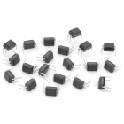 SHARP 1-Channel 4-Pin PC817 Optocoupler - Black (20 PCS)