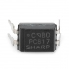 SHARP 1-Channel 4-Pin PC817 Optocoupler - Musta (20 kpl)