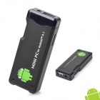 Dual-Core Android 4.1 Google TV Player w/ TF / Wi-Fi / 1GB RAM / 4GB ROM - Black