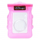 Bingo WP01_01 Waterproof Protective PVC Bag for Small Camera - Pink