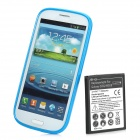 Replacement 2500mAh Battery and PVC Back Case Kit for Samsung Galaxy S3 / i9300 - Blue