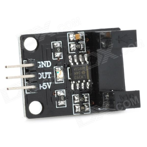 IR Infrared Radiation Velometer Sensor Module - Black