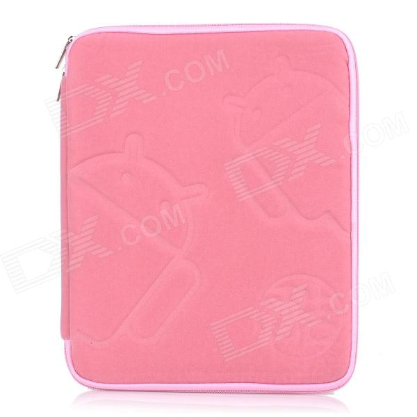"Protective Soft Sleeve Bag Pouch Case for 9.7"" Tablet Notebook - Pink"