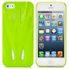 Fashion Sports Car Style Protective PC Back Case for iPhone 5 - Green