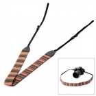 Soft Knitting Cotton Yarn Neck / Shoulder Sling Strap for DSLR - Multi-Color
