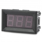 3-Digit Red LED Digital Voltage Meter (DC 0~99.9V)