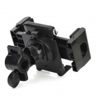 Motorcycle / Bicycle 360 Degree Rotating Mount Holder Support for GPS / Cell Phone / MP4 - Black