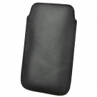 Protective PU Leather Pouch Case for Samsung Galaxy Note 2 N7100 - Black