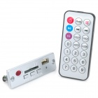 M-328 MP3 Player Mode w/ USB / SD Slot - Silver (DC 3.7V)