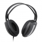 HYUNDAI HY-1088 Headphones w/ Microphone - Black (3.5mm Plug / 190cm)