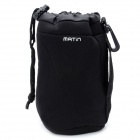 Protective Neoprene Bag Case for DSLR Camera Lens - Black (Size L)