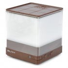 ELAH PC005 Stylish Aroma Diffuser Humidifier w/ Light Effect - White + Coffee