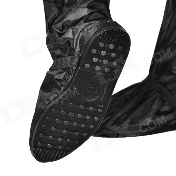 Motorcycle Waterproof Rain Boot Shoes Cover w/ Reflective Tape ...