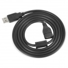 USB 2.0 Male to Female Extension Cable - Black (150cm)