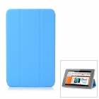 Protective PU Leather Case Cover Stand for Ipad MINI - Blue
