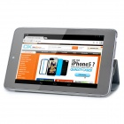 Protective PU Leather Case Cover Stand for Ipad MINI - Grey