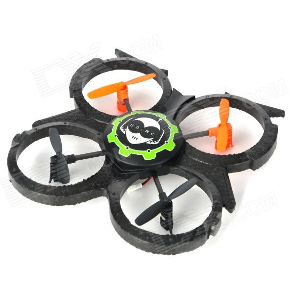 UDIR/C U816A 2.4GHz Remote Controlled 4-Channel UFO Aircraft Helicopter - Black + Grey + Orange