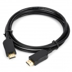 1080P Gold Plated HDMI V1.3 Male to Male Cable - Black (1.5m)