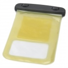 Protective Waterproof Pouch w/ Armband + Strap for iPhone 4S / 5 - Black