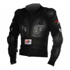 Pro-biker HX-P13 Protective Plastic + Foam + Nylon Motorcycle Riding Armor - Black (L Size)