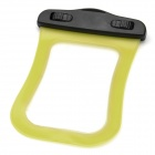 Protective Waterproof Pouch w/ Strap for Ipod Touch - Yellow