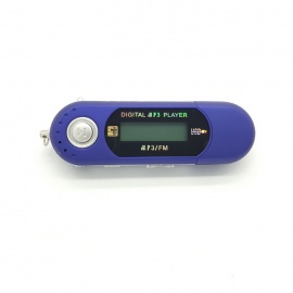 "XP9143 1.2"" Display USB Flash Drive Type MP3 Player w/ Mic / FM (4GB)"