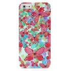 Butterfly Flower Pattern Protective PC Hard Back Case for Iphone 5 - Colorful