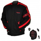 SCOYCO JK34-L Multi-Function Motorcycle Riding Protection Jacket Set - Red + Black (Size L)