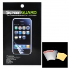 Protective Glossy Screen Protectors w/ Cleaning Cloths for Ipod Touch 5 - Transparent White (10 PCS)