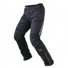 Scoyco P026-L Motorcycle Professional Racing Pants w/ Detachable Liner - Black (Size L)