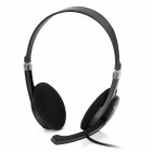Oakorn OK-330 Stereo Headphone w/ Microphone - Black